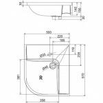 Ravak BeHappy L/R XJAL1100000/XJAP1100000