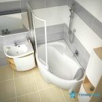 Ravak M 780 L/R birch/white X000000160/X000000161