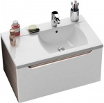 Ravak Wash basin cupboard SD 800-L Classic latte/white