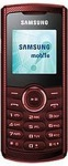 грн.Украина. Мобильный телефон Samsung E2121 candy red
