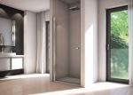 Sanswiss SOL109005007 Solino Душові дверцята, хром/прозоре скло /Сорт 1/900x2000