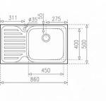 Teka CLASSIC MAX 1B 1D LHD 11119201