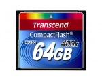 Transcend Compact Flash 64 GB (400X)