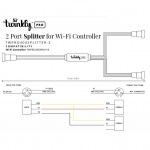 Twinkly TWPRO400SPLITTER-2