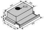 Ventolux GARDA 60 XBG (700) SLIM