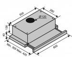 Ventolux GARDA 60 INOX (620) SLIM