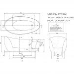 Villeroy-Boch AVEO NEW GENERATION UBQ194AVE9T1V