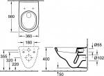 Villeroy-Boch O NOVO 5660H101 (сидение дюропласт) soft-close