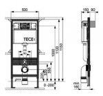 Villeroy-Boch 5660R001 O.NOVO+9M38S101+9.400.000 TECEbase kit (1уп)