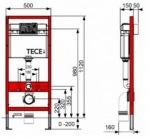 Villeroy-Boch 9400006+5660HR01 O.Novo Directflush + TECE